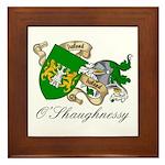 O'Shaughnessy Coat of Arms Framed Tile