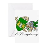 O'Shaughnessy Coat of Arms Greeting Cards (Package