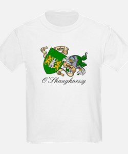 O'Shaughnessy Coat of Arms Kids T-Shirt