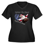 United We Stand Support our t Women's Plus Size V-