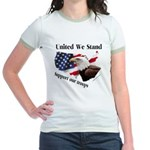 United We Stand Support our t Jr. Ringer T-Shirt