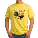 United We Stand Support our t Yellow T-Shirt