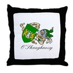 O'Shaughnessy Coat of Arms Throw Pillow