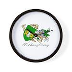 O'Shaughnessy Coat of Arms Wall Clock