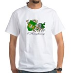 O'Shaughnessy Coat of Arms White T-Shirt