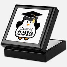 Penguin Class of 2019 Keepsake Box
