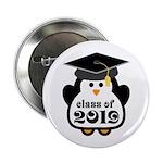 "Penguin Class of 2019 2.25"" Button"
