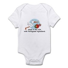 Stork Baby Portugal USA Infant Bodysuit