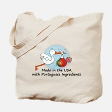 Stork Baby Portugal USA Tote Bag