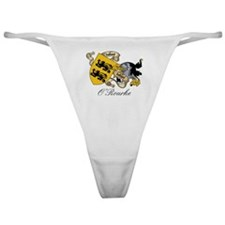O'Rourke Coat of Arms Classic Thong