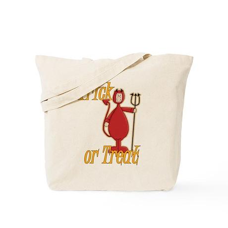 Trick or Treat Li'l Devil Tote Bag