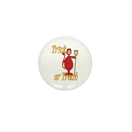 Trick or Treat Li'l Devil Mini Button (10 pack)
