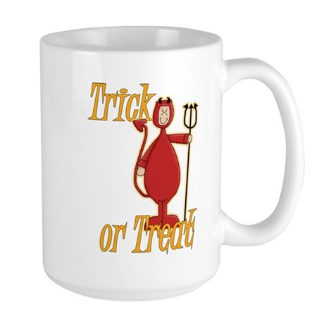 Trick or Treat Li'l Devil Large Mug