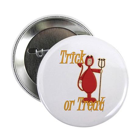 """Trick or Treat Li'l Devil 2.25"""" Button"""