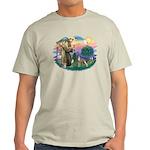 St Francis #2/ Whippet #12 Light T-Shirt