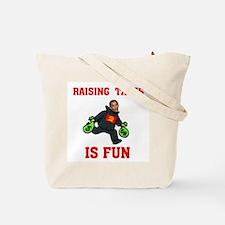 OBAMA'S RAISING INTEREST RATE Tote Bag