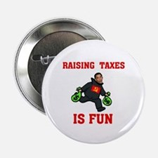 "OBAMA'S RAISING INTEREST RATE 2.25"" Button (1"