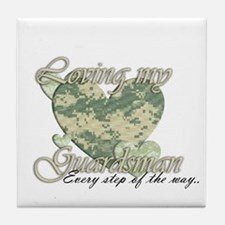 National Guard Tile Coaster