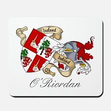 O'Riordan Coat of Arms Mousepad