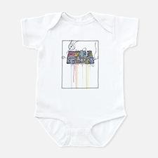 Funny Tron Infant Bodysuit