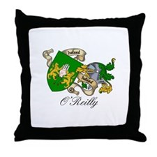 O'Reilly Coat of Arms Throw Pillow