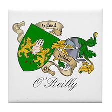 O'Reilly Coat of Arms Tile Coaster