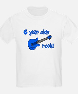 6 year olds Rock! T-Shirt