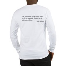 Cute Pledge of allegiance Long Sleeve T-Shirt