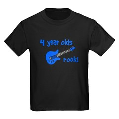 4 year olds Rock! T