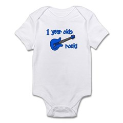 1 year olds Rock! Infant Bodysuit