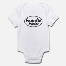Beardie POWER Infant Bodysuit