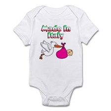 Made In Italy (Girl) Infant Bodysuit