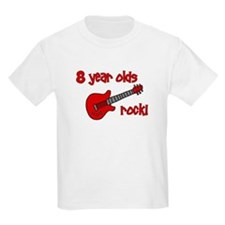 8 year olds Rock! T-Shirt