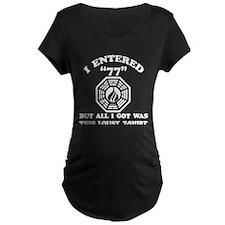 Enter 77 LOST Black T-Shirt