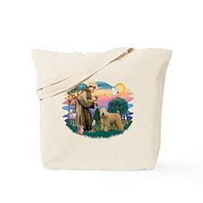 St Francis #2/ Wheaten Tote Bag