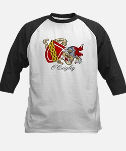 O'Quigley Coat of Arms Kids Baseball Jersey