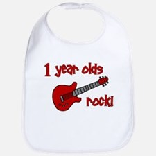1 year olds Rock! Bib