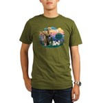 St Francis #2 / Westies (2) Organic Men's T-Shirt