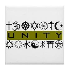 Unique Unity Tile Coaster