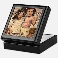 Victorian Brother & Sister Keepsake Box