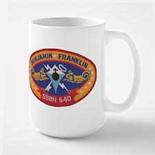 USS BENJAMIN FRANKLIN Large Mug