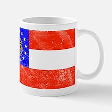 Vintage GA State Flag Mug
