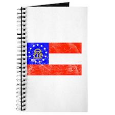 Vintage GA State Flag Journal