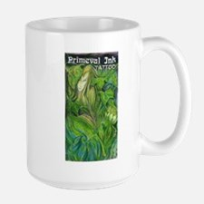Green Elf Girl vertical Mug