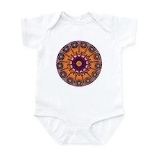 Boy Meets Girl Mandala Infant Bodysuit