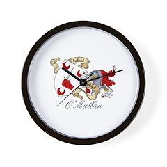 O'Mullan Coat of Arms Wall Clock