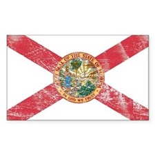 Vintage FL State Flag Decal