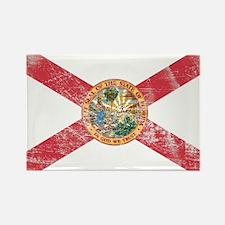 Vintage FL State Flag Rectangle Magnet