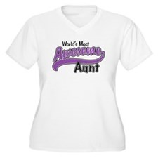 Most Awesome Aunt T-Shirt