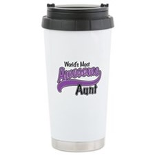 Most Awesome Aunt Travel Mug